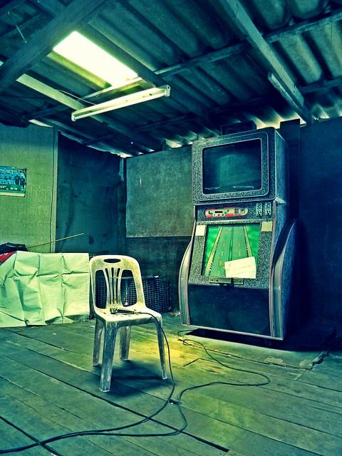 The Karaoke Machine.  by Ben Hodson