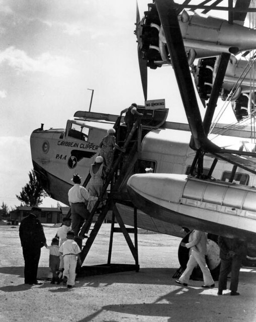 Sikorsky S-40b Boarding in Miami