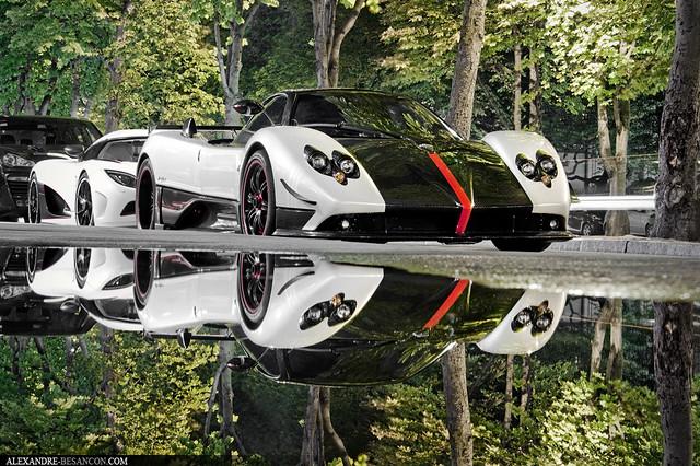 Zonda Cinque Roadster + Agera R