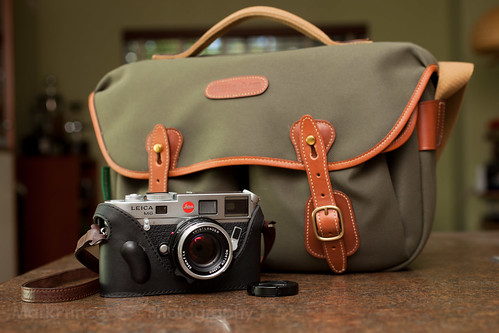 Leica M6 with Billingham Bag