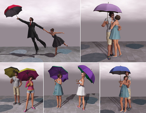 {what next} Rainy Day Pose Props