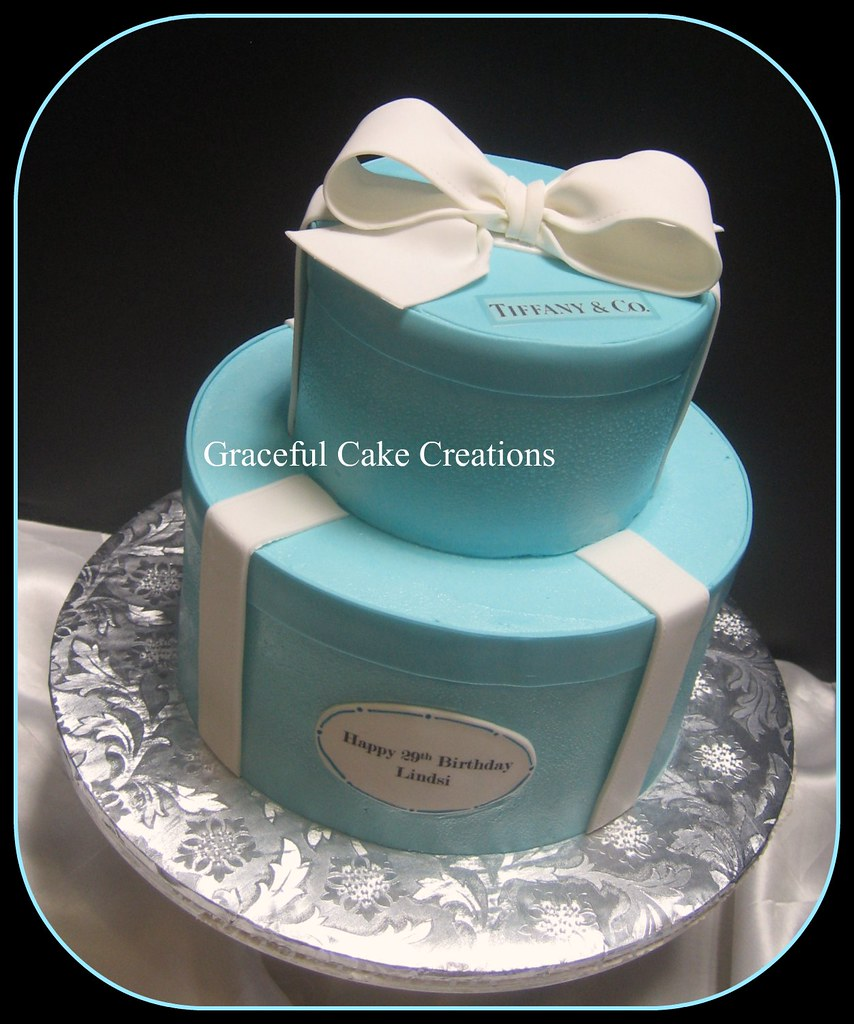 Tiffany And Co Birthday Cake A Photo On Flickriver