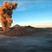 Mt Bromo erupts ! at Dawn by Ragstatic