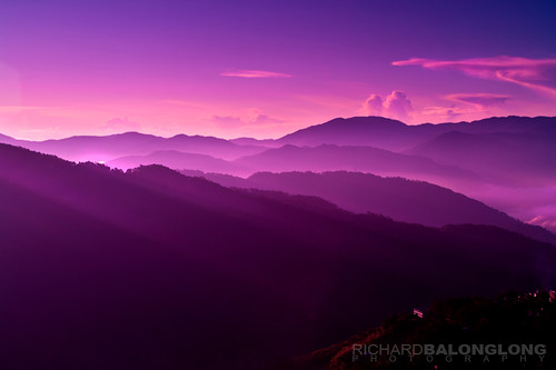 city morning mist mountain art fog sunrise landscape photography view purple pentax dusk magenta violet richard mines vista baguio layers layering k7 phiippines balonglong