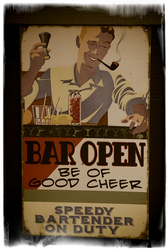 Bar Open by Damian Gadal
