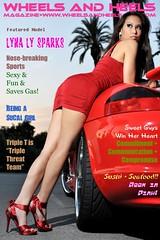 !WheelsAndHeelsMag.com - Lyna Ly Sparks (0) Cover