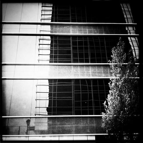 Atlantic Station Building Reflection by Juli Kearns (Idyllopus)