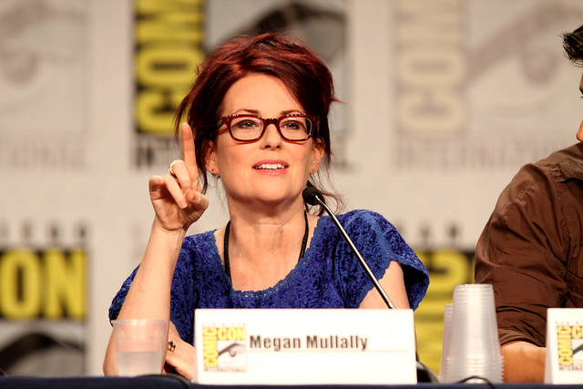 Header of Megan Mullally