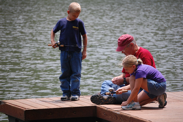 Children must have an adult supervisor to fish in the tournament.