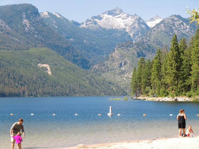 Lake Como swim area   Flickr - Photo Sharing!