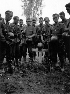 Begravelse, muligens i Polen 1939