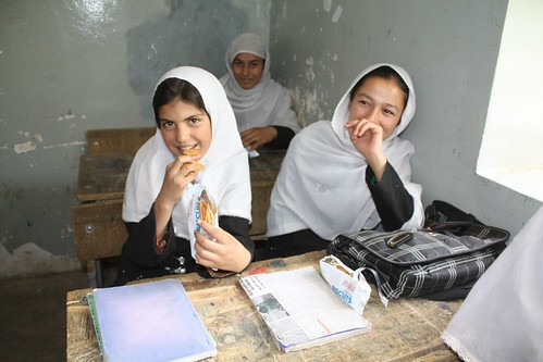 Afghanistan – high-energy biscuits