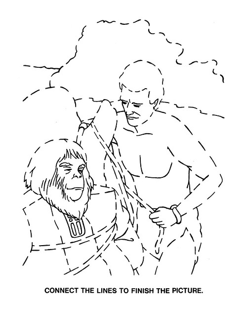 Planet of the Apes Activity Book 0100065