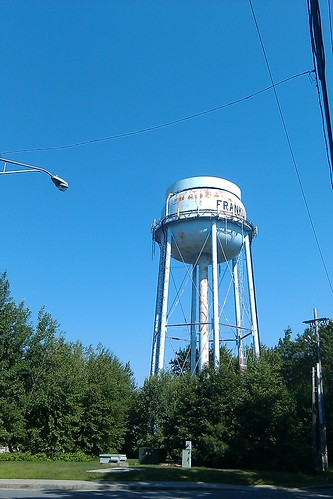 Franklin: water tower