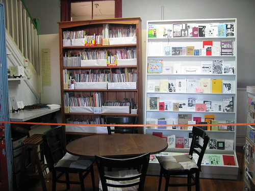 Alphabet City Zine Library!