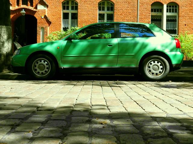 Audi A3 - very green