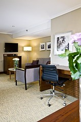 Suite living room Hotel Crown Plaza Amsterdam City Centre