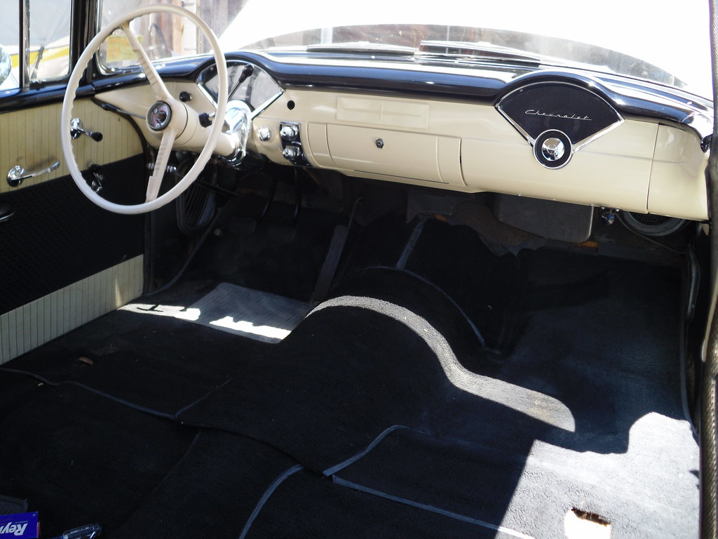 1956 chevrolet 150 dash repaint - pictures