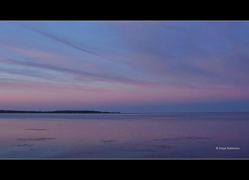 pink blue sunset sea sky mer seascape canada beach water rose island bay soleil purple cottage violet ile nb atlantic bleu newbrunswick ciel cape pointe plage maritimes couché baie shediac chene pointeduchene
