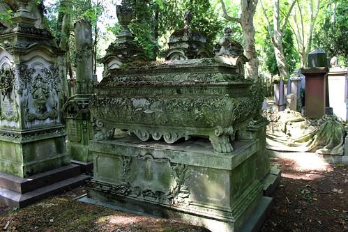Tombs of Lousie von Rothschild, nee Rothschild (1820-1894) and Freifrau Minna Caroline von Goldschmidt, nee von Rothschild (1857-1903)