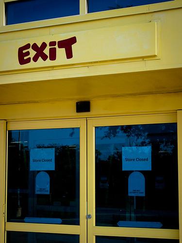 Exit - Store Closed
