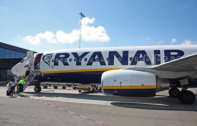Ryanair ||Vuelo FR5422 || Madrid (MAD) - Oslo (Rygge) (RYG)