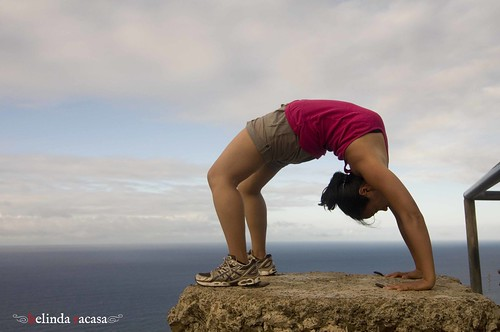 .yoga in the wild ~ urdhva dhanurasana