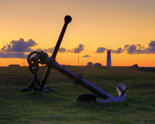 Anchor and Lighthouse