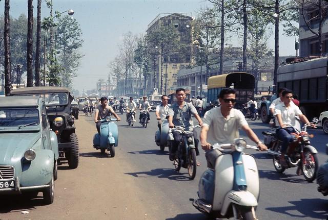 Saigon 1968 - đường Trần Hưng Đạo