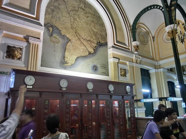 中央郵便局(Central Post Office)/ベトナム、ホーチミン(Ho Chi Minh, Vietnam)
