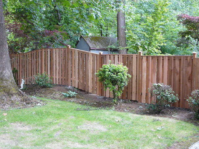 A Capped Good Neighbor Fence With Added Density Flickr