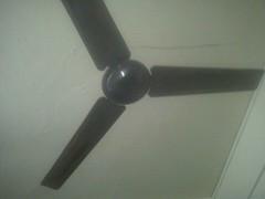 ceiling fan, ceiling, mechanical fan,