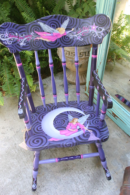 1000 Ideas About Painted Rocking Chairs On Pinterest