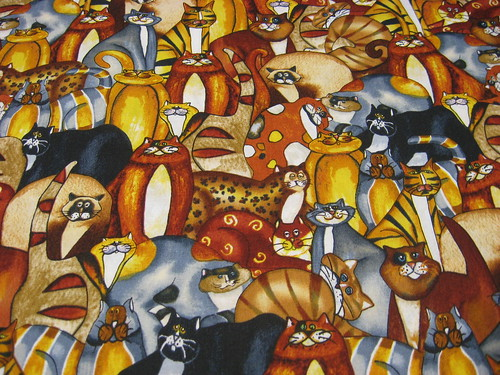 Packed Cartoon Cats