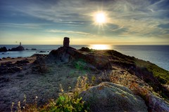 Corbierre Lighthouse HDR