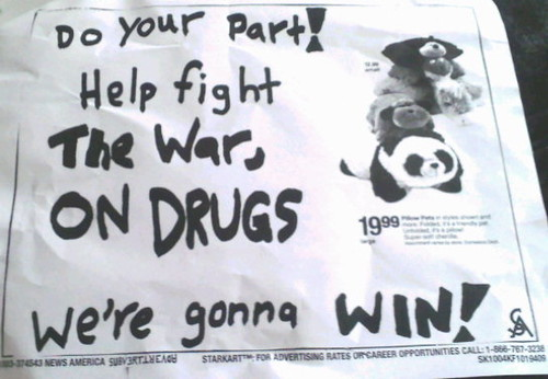 Help Fight the War, On Drugs
