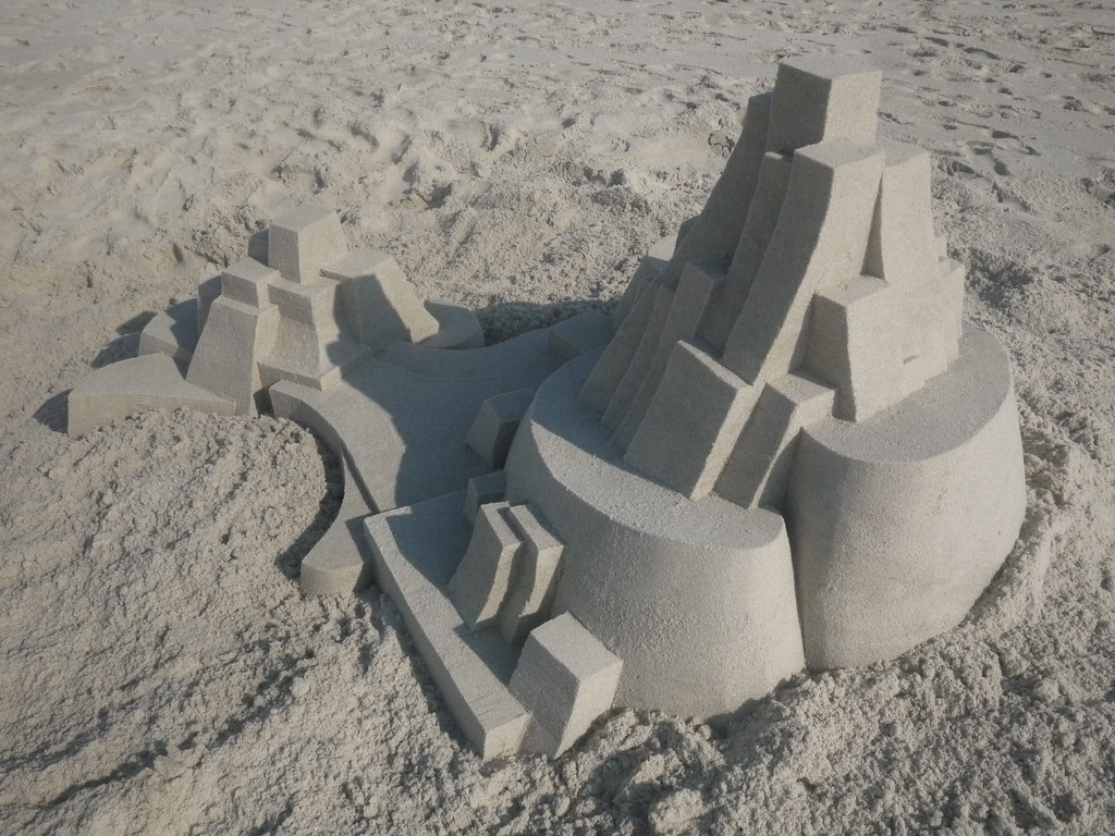 5905050923 144ce11a6b b Geometric Sand Sculptures by Calvin Seibert
