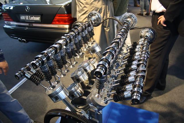 Photo for Mercedes benz v12 engine