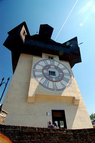 The Urturm, Schlossberg Graz 格拉茨 城堡山 鐘樓