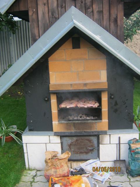 backyard smokehouse bbq pit flickr photo sharing