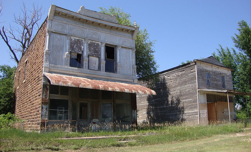Old Storefront Buildings (Manchester, Kansas)