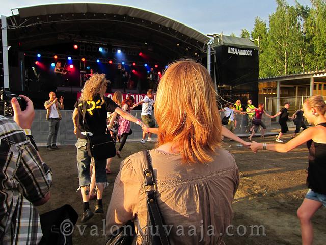 Ilosaarirock 2011 - Jaakko Laitinen & Väärä Raha