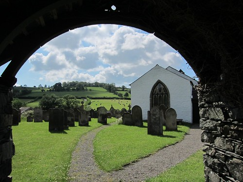 Uldale church yard