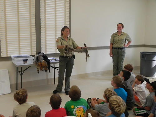 Virginia State Parks host many different types of themed field trips and outreach programs each year.  First Landing State Park.