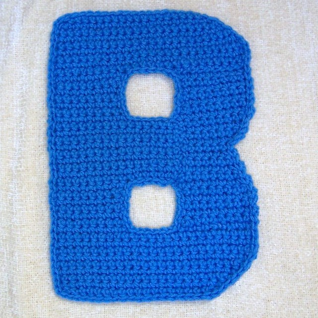 Free Crochet Pattern Letter B : Crochet In Letter Pattern Free Patterns For Crochet