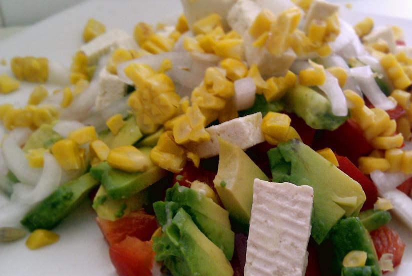 Vegan Ceviche de tofu