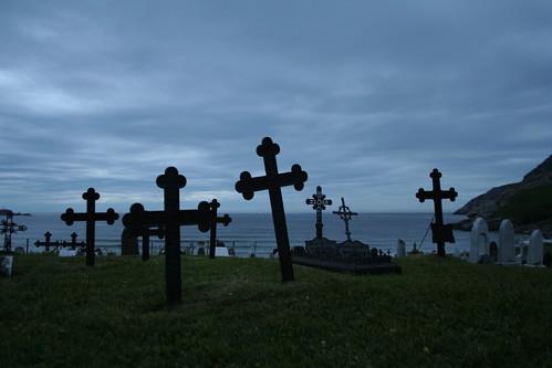 Ervik Graveyard Midnight