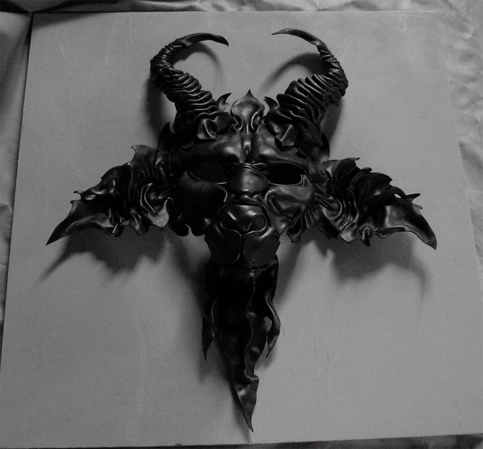 Welcome To Hell...leather Mask Of Satan, Mephistopheles
