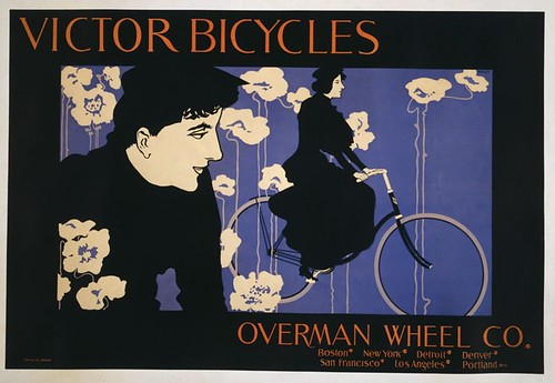 Victor Bicycles Poster,1896