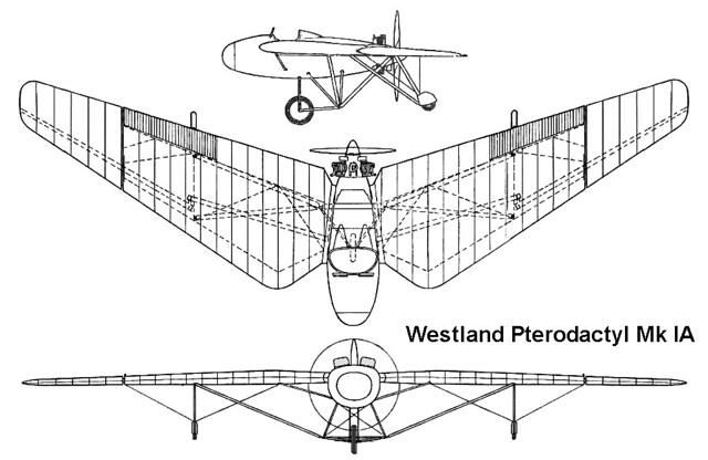Westland Pterodactyl Mk.IA 3v